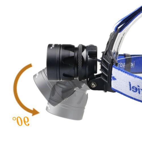 900000LMS Headlamp 18650 Headlight Head