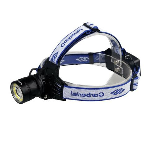 Headlamp Rechargeable Head