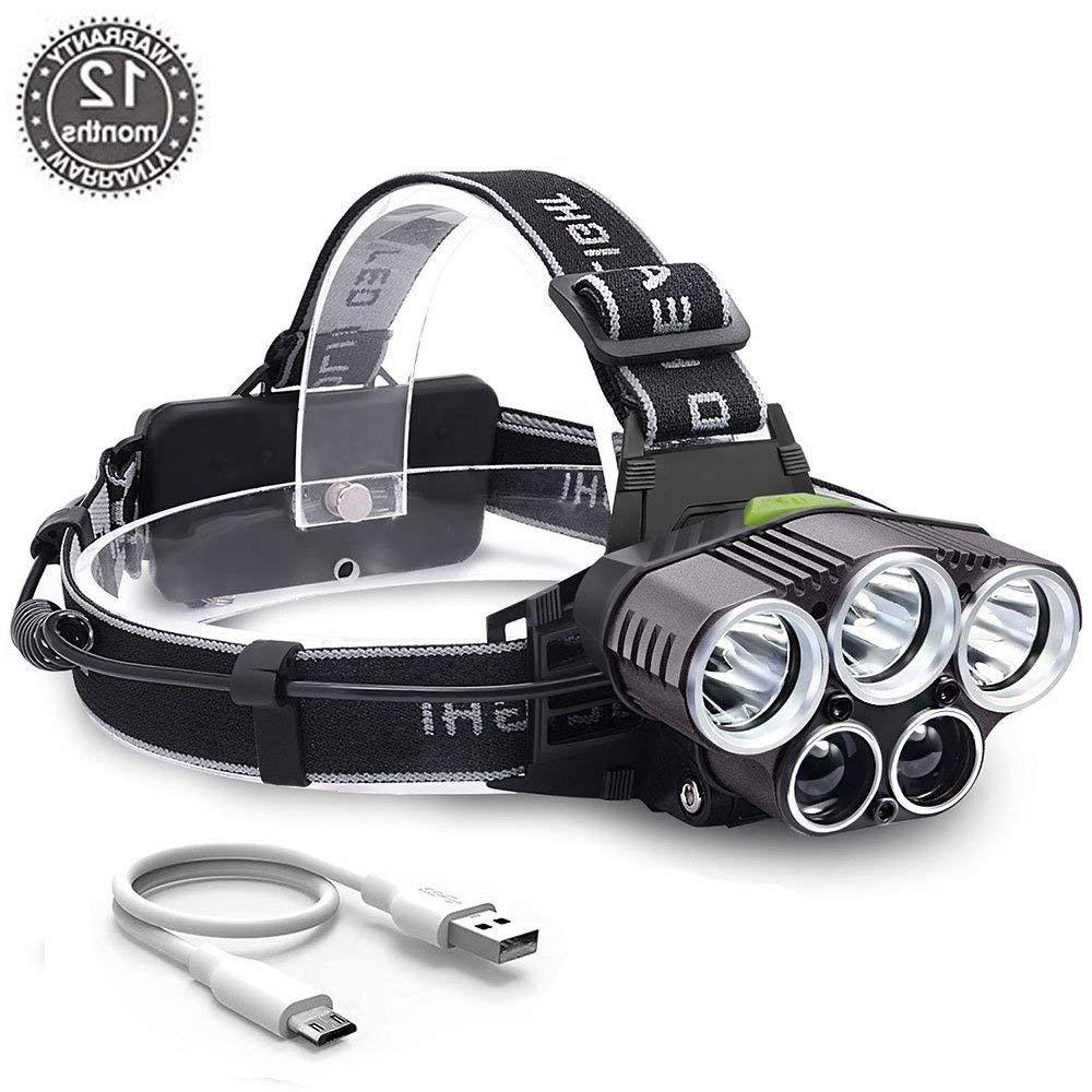 90000LM CREE LED Headlamp Headlight Head Torch +Battery