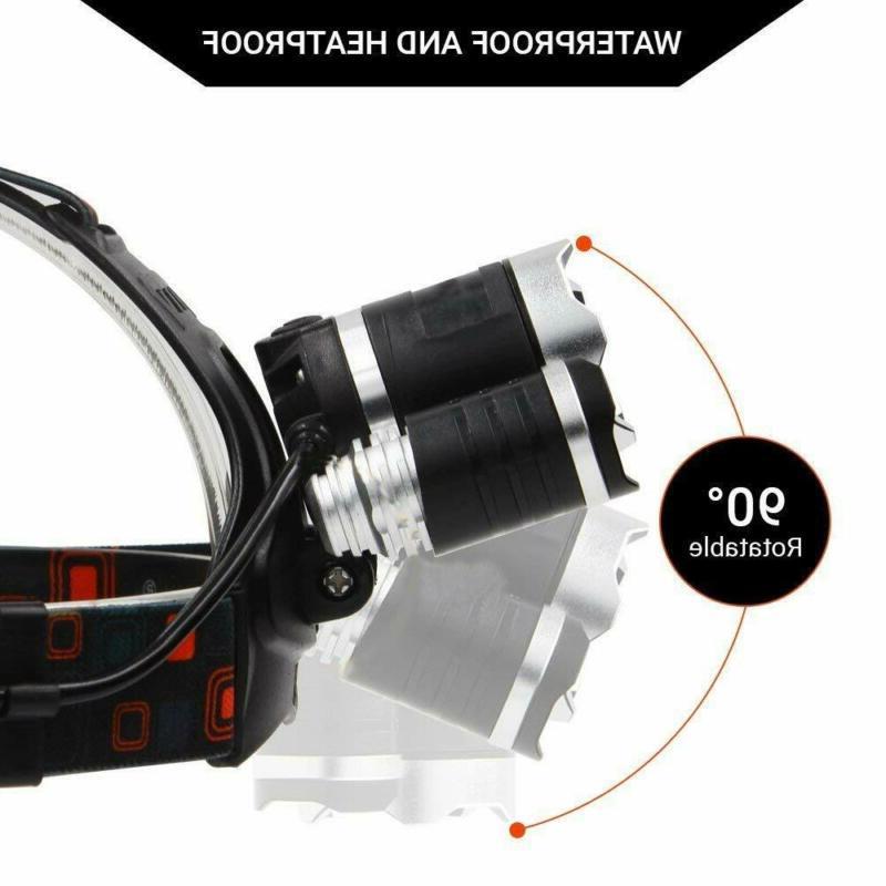 100000LM T6 LED Headlight Headlamp 18650 Flashlight Lamp