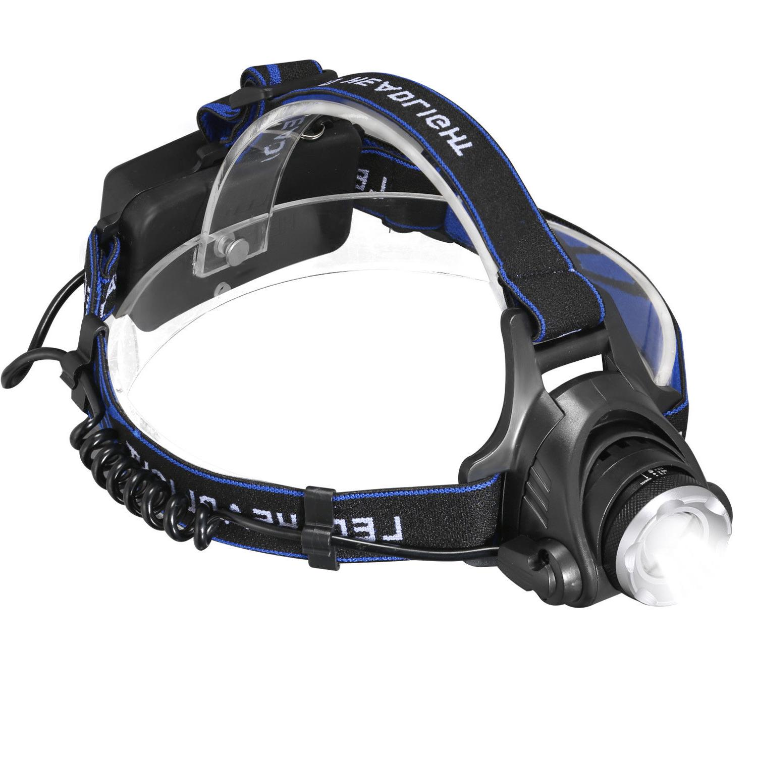 90000Lumens T6 Headlamp Rechargeable 18650 Head Lamp