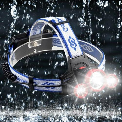 Garberiel 3-T6 Headlamp Flashlight Headlight Torch