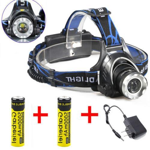 990000lm 3 t6 led headlamp flashlight headlight