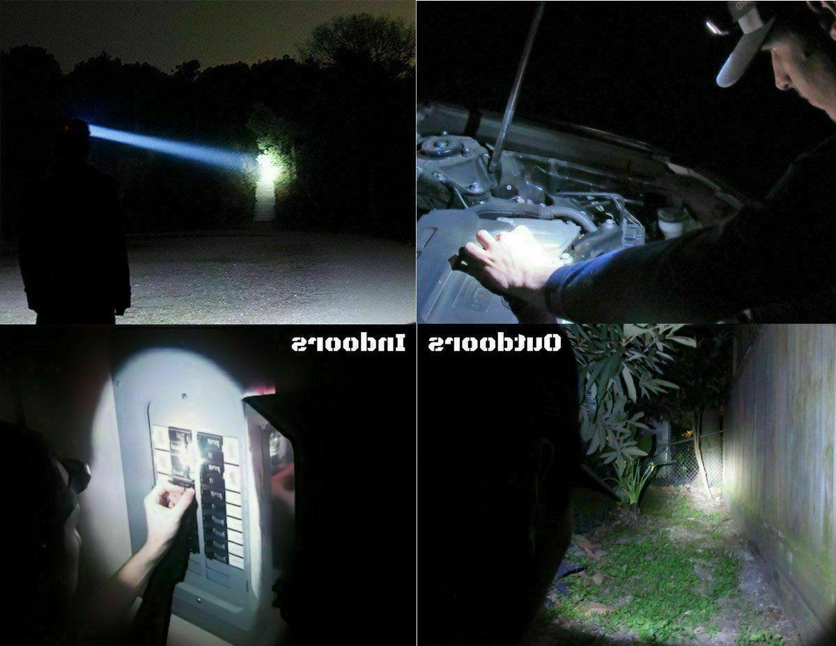 990000LM 5X Headlamp Flashlight