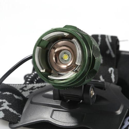 990000LM Zoomable T6 LED Headlamp Torch