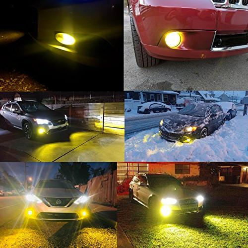 Alla Newest PSX24W LED Fog Light Power 3030 27-SMD Extremely Super Bright Bulb PSX24W LED Bulbs Light,