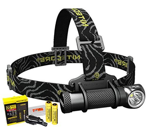 Nitecore HC30 1000 Lumens Rechargeable LED Headlamp with 2 x