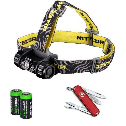 Nitecore HC50 565 Lumens CREE XM-L2 LED headlamp with Victor