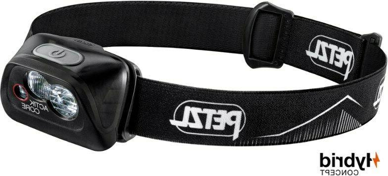 Petzl ACTIK CORE 450 Lumens Rechargeable Headlamp / Black /