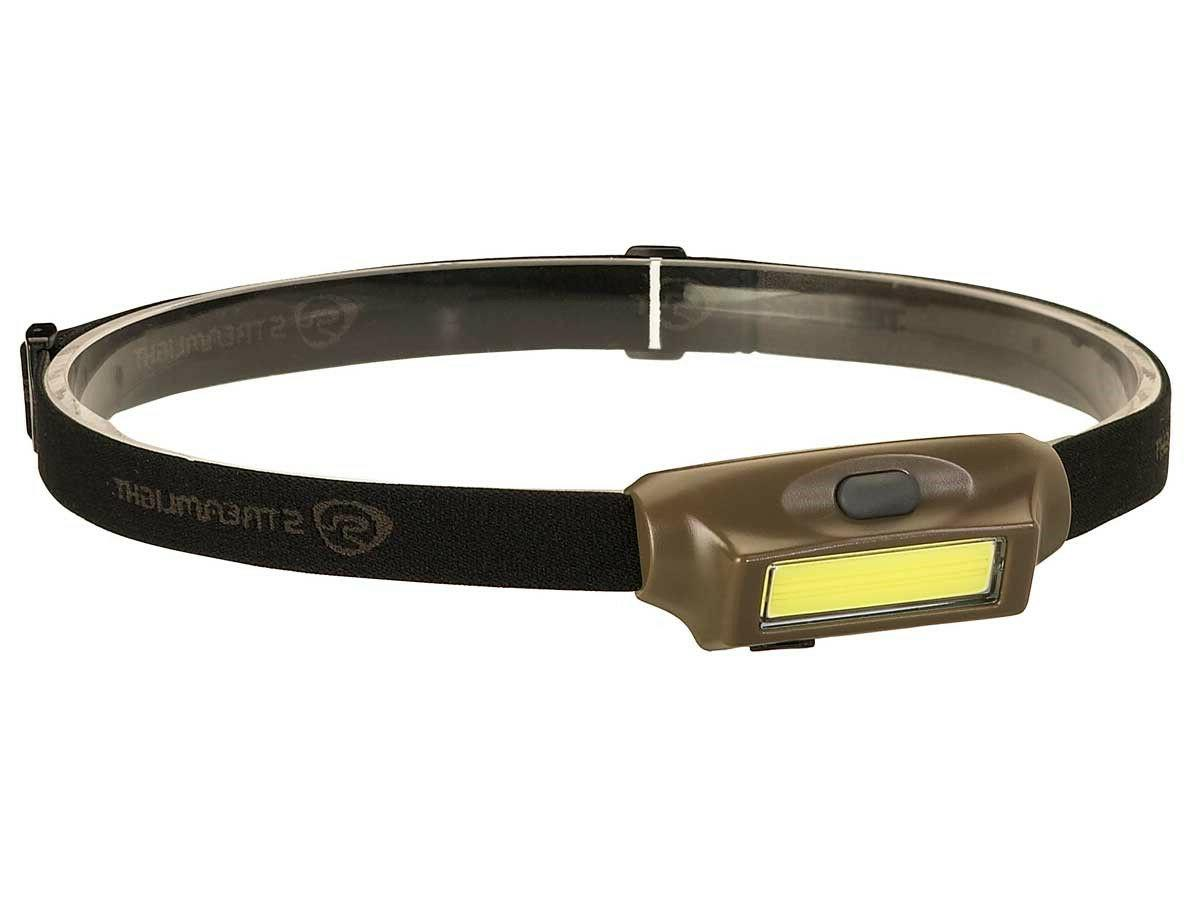 bandit led rechargeable headlamp coyote with red