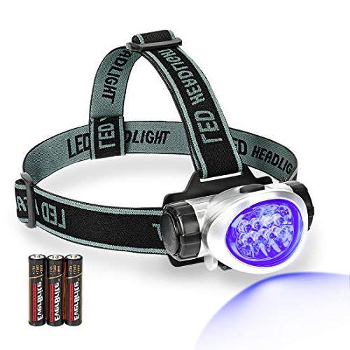 black light headlamp uv blacklight