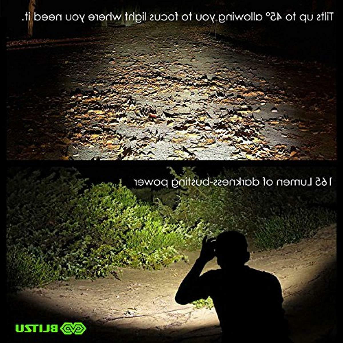 BLITZU Flashlight 165 Lumen Bright White