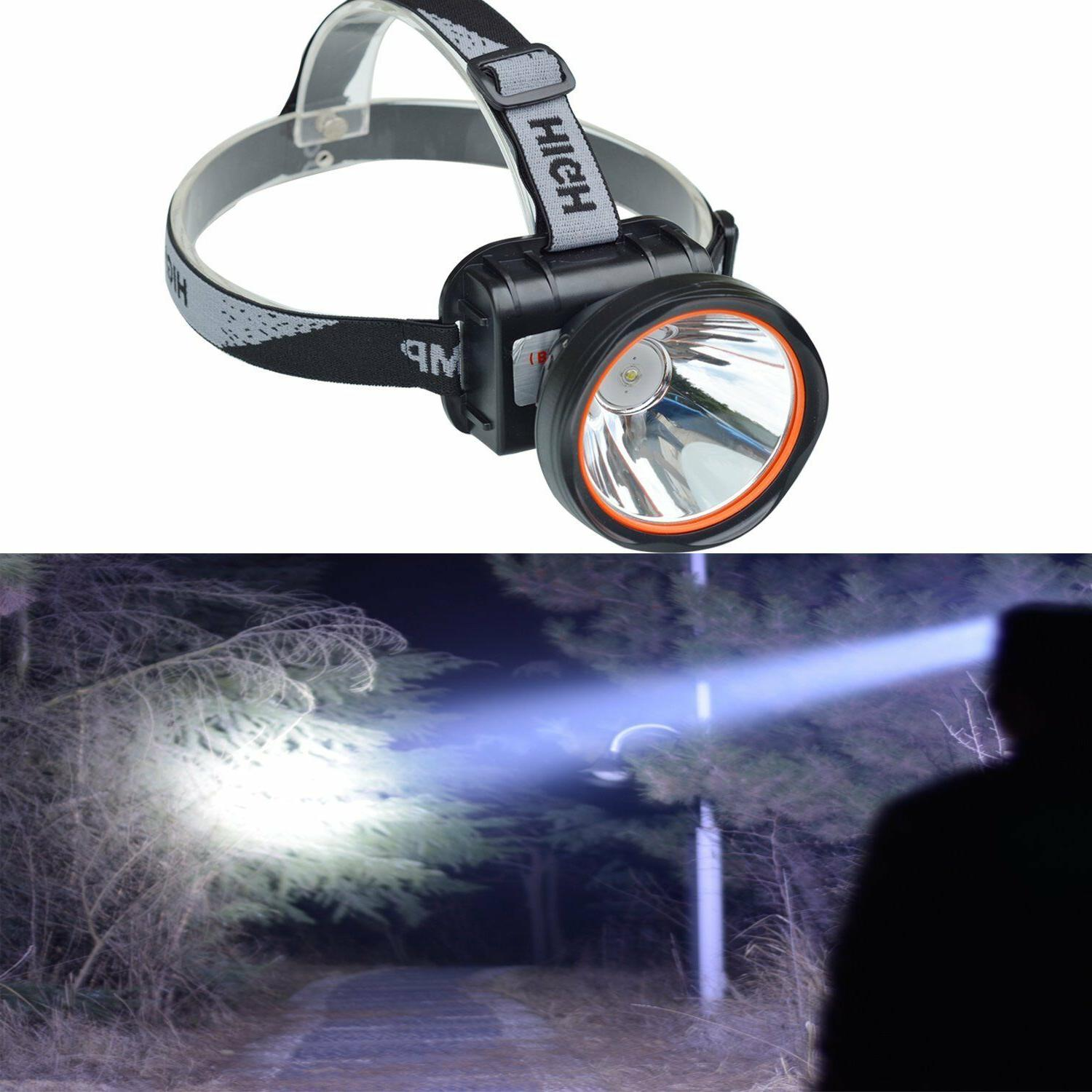bright headlamp led rechargeable flashlight headlight campin