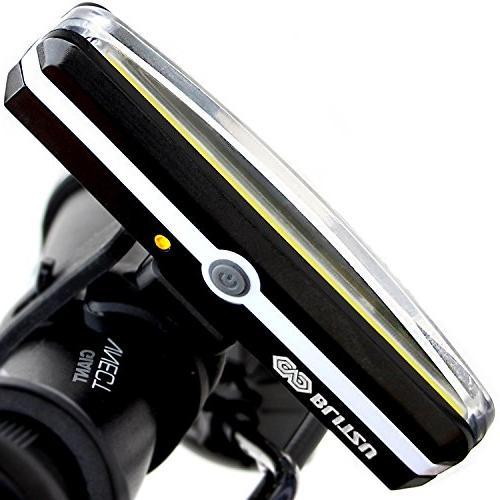 brightest usb rechargeable bike headlight
