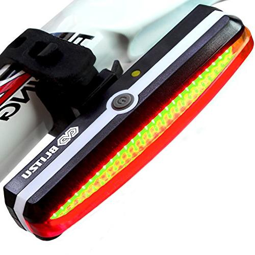 brightest usb rechargeable bike tail