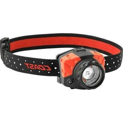 Coast  FL85  540 lumens Headlamp  LED  AAA  Black Multi Mode