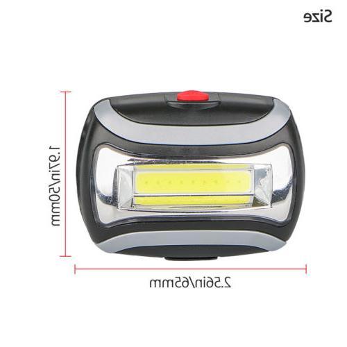 COB LED Headlamp Headlight Light Torch Flashlight Waterproof