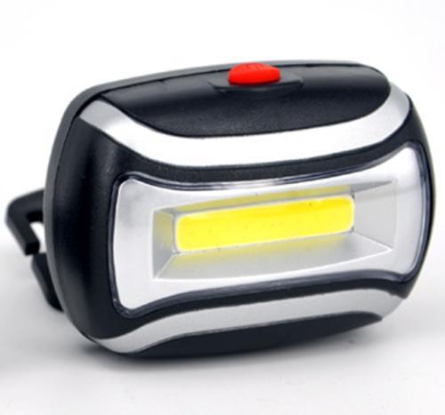 COB LED Headlight Light Torch Flashlight Waterproof