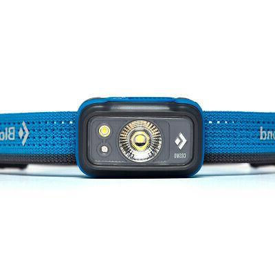 Black Cosmo Headlamp Azul One
