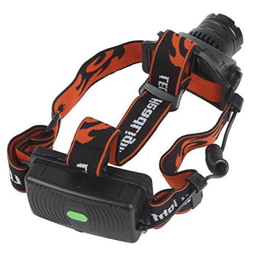 WindFire 1800 CREE XM-L Waterproof Rotating Headlight Indicator and 2 WindFire Rechargeable Riding