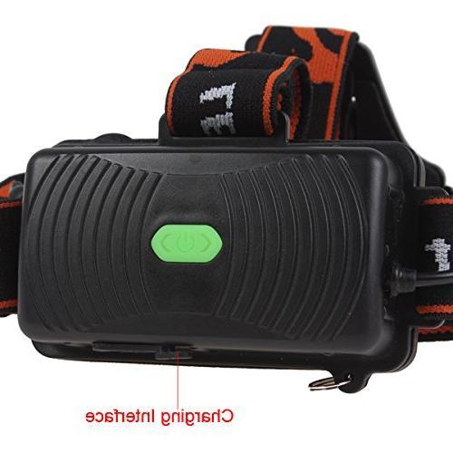 XM-L Waterproof Headlight Indicator Flashlight and Riding