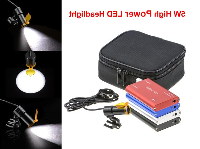 dental 5w led headlight surgical headlamp binocular