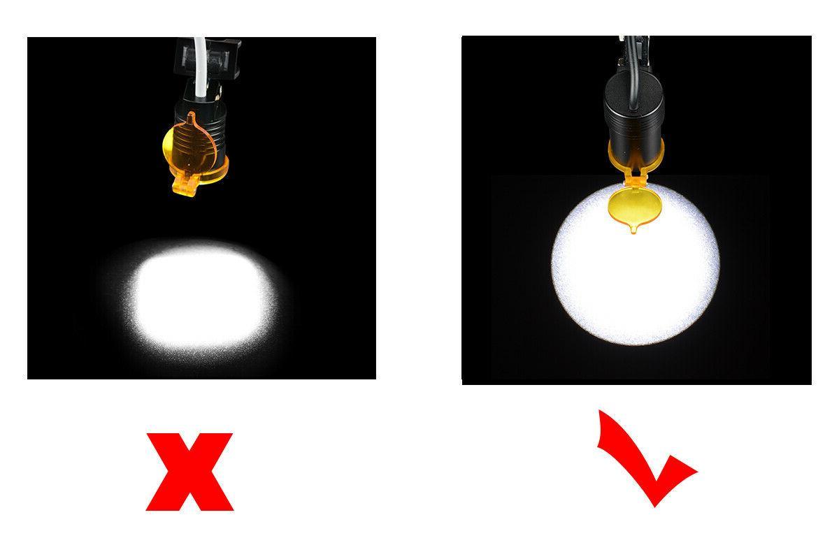 Dental LED Clip for Binocular Loupes+A