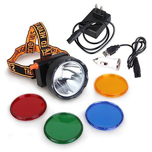dimmable miner headlamp mining hunting