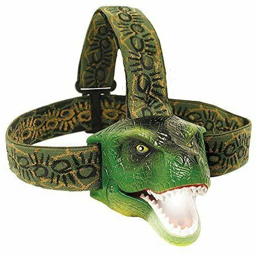 dinobryte led headlamp t rex headlamp