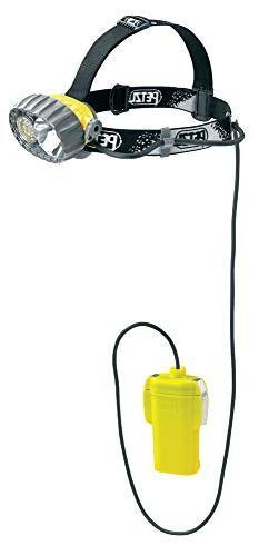 PETZL - DUOBELT LED 14 Helmet, Hybrid Waterproof Headlamp, 6