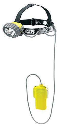 PETZL - DUOBELT LED 5 Headlamp, Hybrid Waterproof Headlamp,