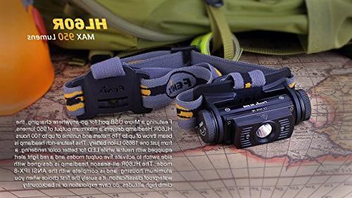 EdisonBright 950 Lumen rechargeable CREE XM-L2 2 Fenix rechargeable batteries,ARE-X1 charger with CR123A back-up batteries bundle