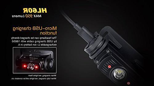 EdisonBright Fenix 950 Lumen XM-L2 2 X Fenix 18650 rechargeable batteries,ARE-X1 charger back-up