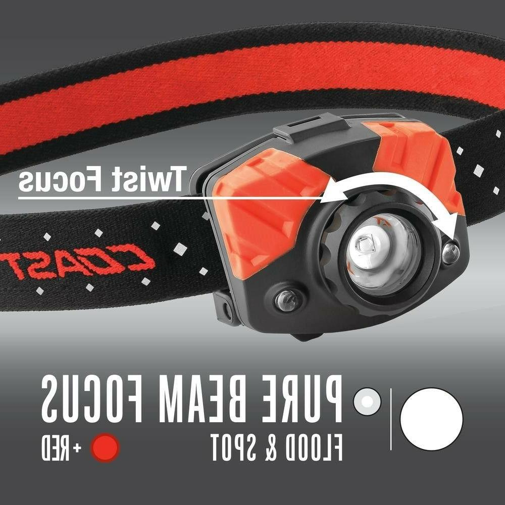 COAST FL75 Dual Focusing Headlamp with Twist and Refle