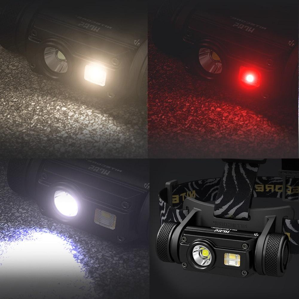 <font><b>Nitecore</b></font> LED 1000LM Headlight Waterproof Flashlight Shipping
