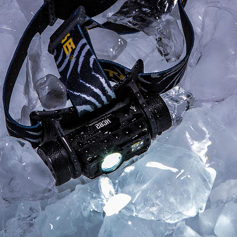 <font><b>Nitecore</b></font> HC65 LED U2 1000LM Triple Headlight Flashlight Free Shipping