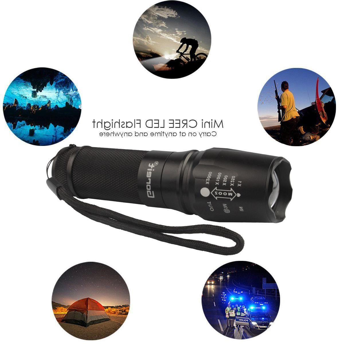 5000lm G700 Tactical T6 Led Xml Military Flashlight X800