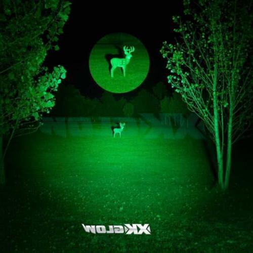 GREEN Retractable Lens LED Headlight