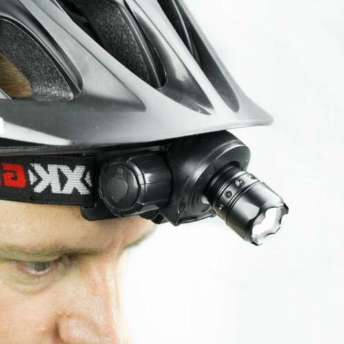 GREEN Spot and Retractable Lens LED Headlight