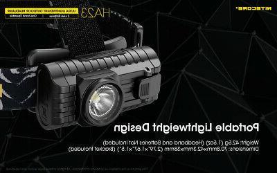 NITECORE HA23 2xAA Batteries &