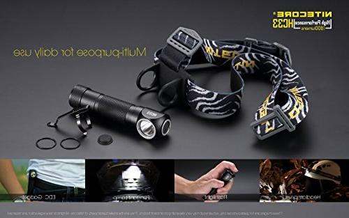 NITECORE HC33 High Performance Versatile Headlamp Battery