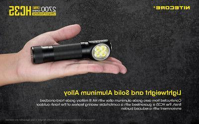 NITECORE HC35 2700 USB 21700 Headlamp