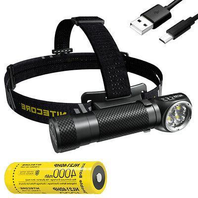 hc35 2700 lumen usb rechargeable 21700 headlamp