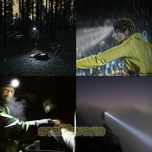 Head Lamp Led Red Flashlight