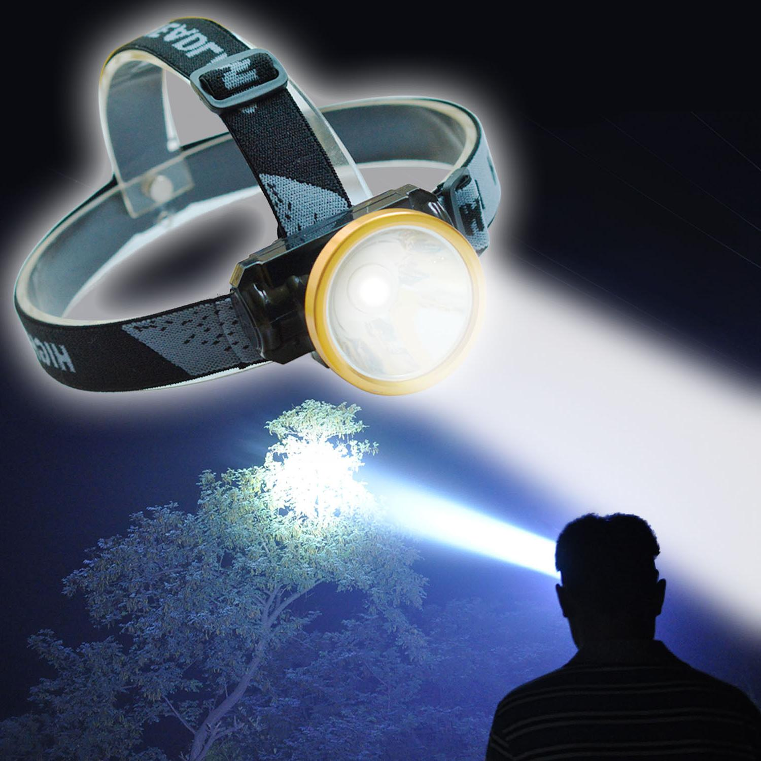 head torch led rechargeable headlamp spotlight headlight