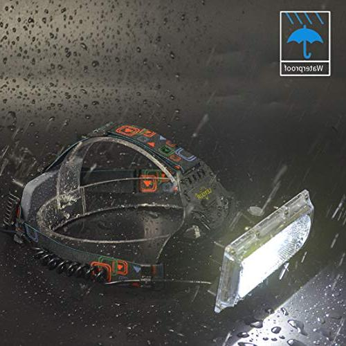 LED headlamps, Headlamp, COB High Light Fishing, Jogging, Battery Container, Super Working