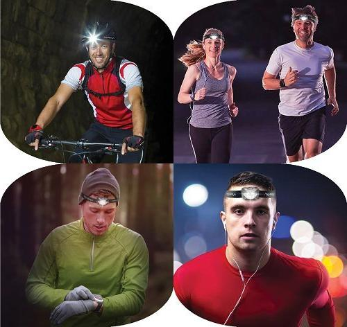 LED Red Brightest Headlight for Camping Running Hunting Walking Reading - - Lamp Light with Batteries!