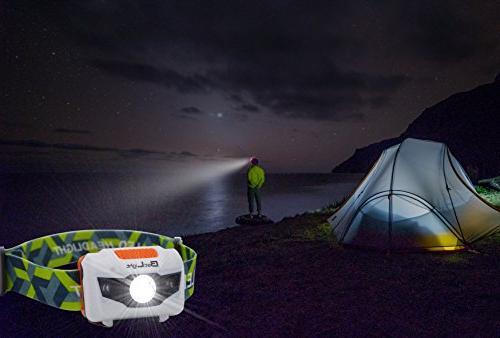 BetLight Modes Headlamp/Headlight,Package Batteries,Replacement Packing Box