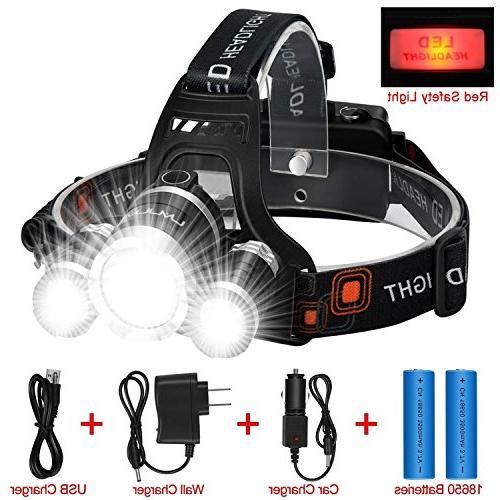headlamp flashlight kit safety light