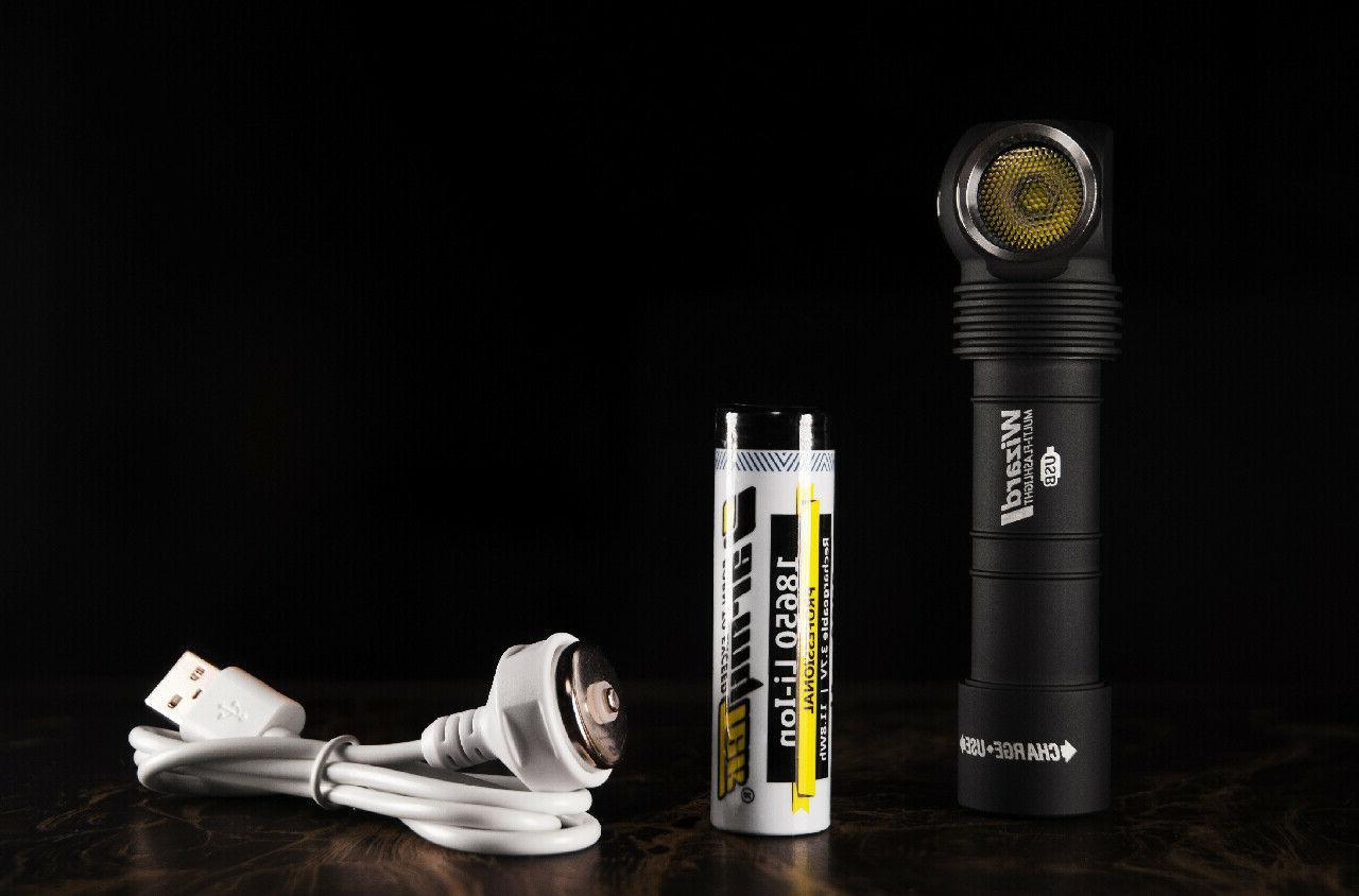 v3 XP-L Torch USB Battery